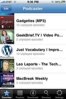 Podcaster app
