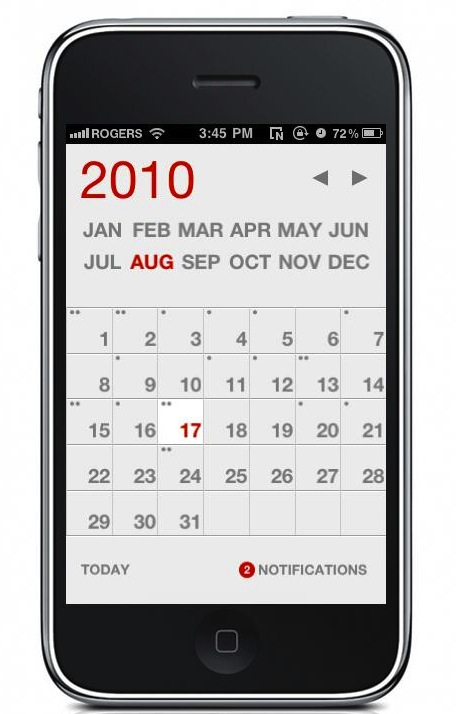 Calendar App For Iphone : Calvetica for iphone like the calendar app but faster