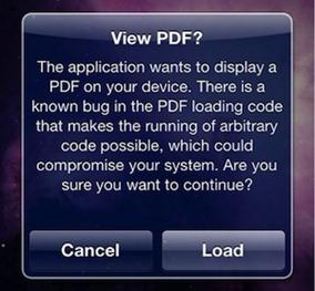 PDF Loading Warner app