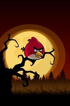 Angry Birds Halloween iPhone wallpaper