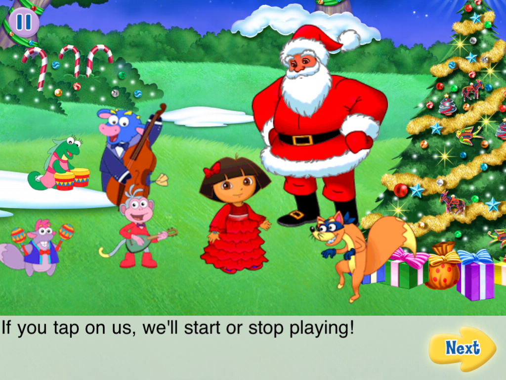 Review: Dora's Christmas Carol Adventure for iOS | iSource