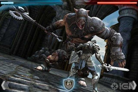 Infinity Blade for iPhone