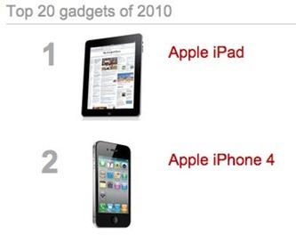 Top2Gadgetsof2010