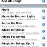 GPS App iPod Playlist Editor
