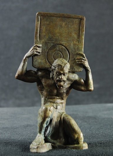 Cool Things Sculptures Of Greek Gods With Ipods Isource