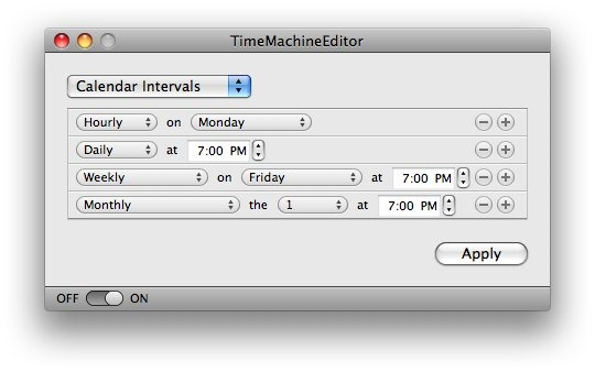 Tired of Hourly Time Machine Backups & Want to Set a Backup ...