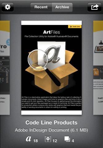 SneakPeek – New iOS Media Viewer App for Adobe Illustrator