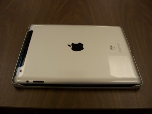 iPad 2 Seated in the Case