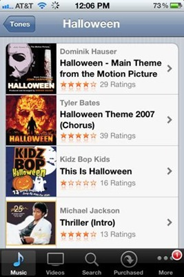 HalloweenRingtones