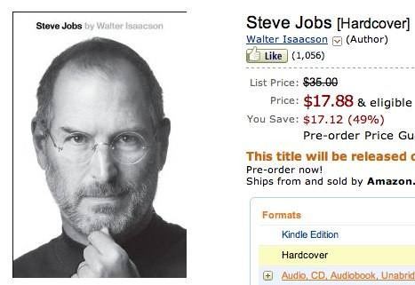 Steve Jobs Authorized Bio Out in Just a Couple Weeks, and Available to ...