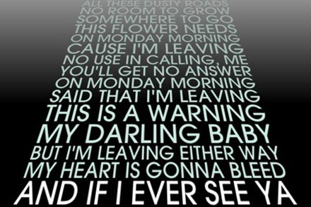 MondayMorningLyrics