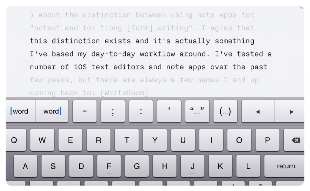 How I Write on my iPhone and iPad | iSource