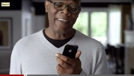 Samuel L Jackson Siri AD