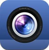 Facebook Camera for iPhone 3GS, iPhone 4, iPhone 4S, iPod touch (4th generation), iPad 2 Wi-Fi, iPad 2 Wi-Fi   3G, iPad (3rd generation) and iPad Wi-Fi   4G on the iTunes App Store