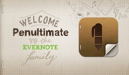 Penultimate and Evernote
