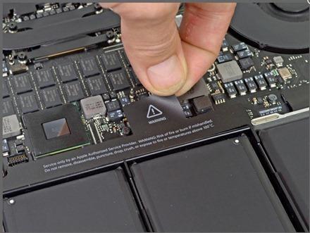 MacBook Pro with Retina Display Teardown