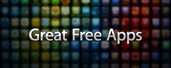 Great free apps banner