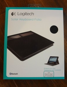 Solar Keyboard Folio Box