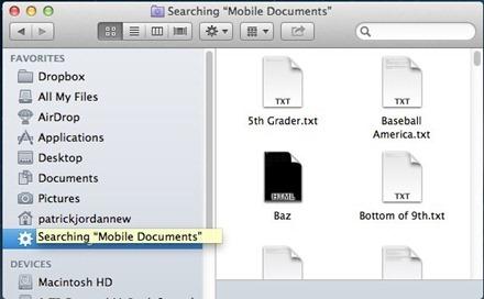 Mac Mobile Documents Folder