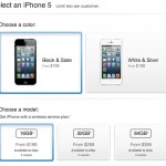 Buy iPhone 5 for AT&T, Verizon, or Sprint - Apple Store (U.S.)