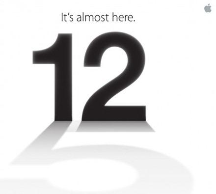 September 12 Apple event