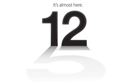iPhone 5 Event