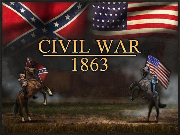 Civil War 1863 for iPad