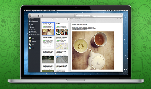 evernote 5 for mac release