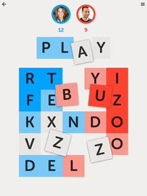 Letterpress Word Game