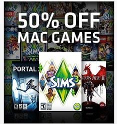 Awesome Mac game sale – 50% off many popular games at Origin