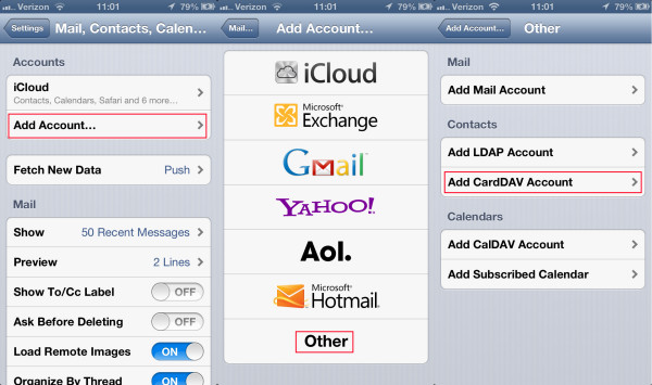 add-carddav-iphone