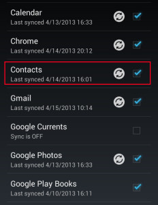 android-contact-sync