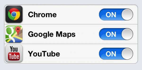 Gmail app settings