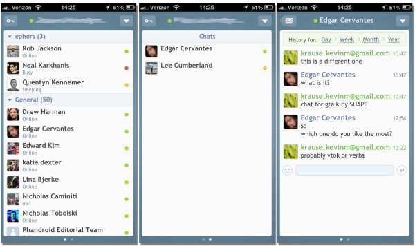 chat-for-gtalk