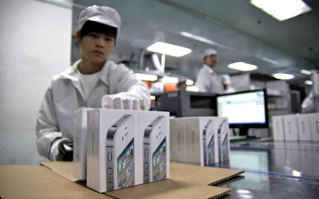 foxconn iphone manufacturing