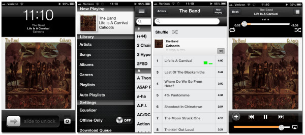 gMusic fo iPhone