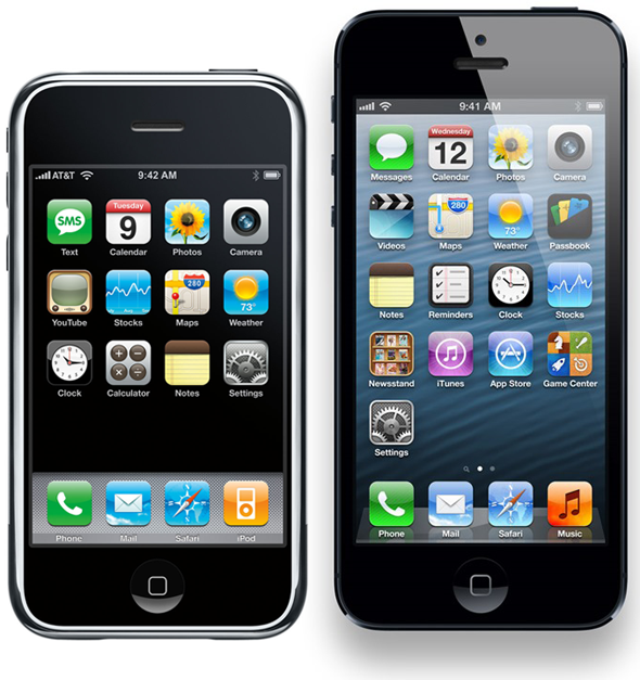 iPhone-OS-1-vs-iOS-6