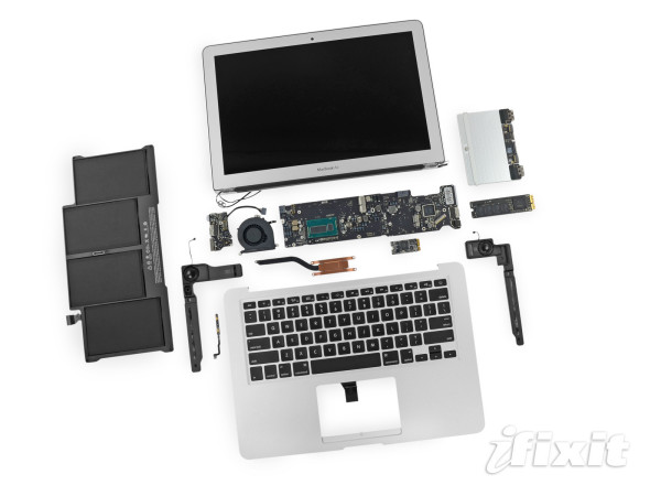 macbook air 2013 teardown