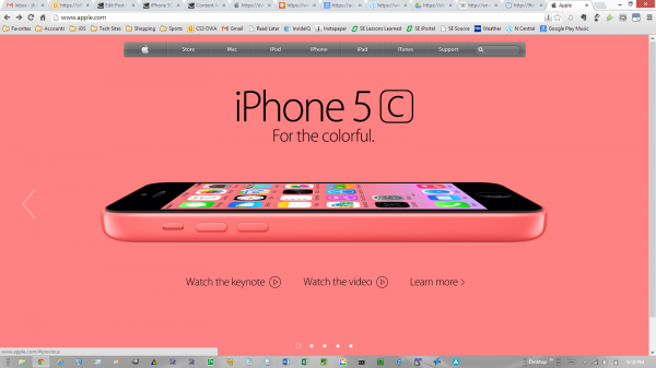 Apple-home-page-iphone5c