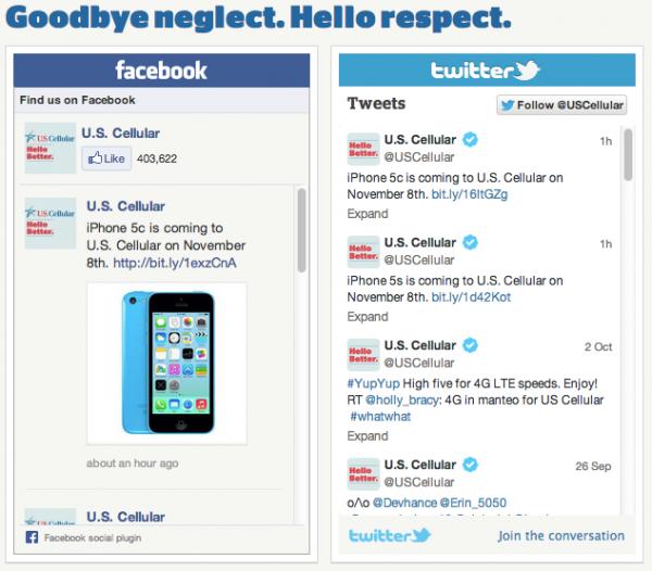 US Cellular-social