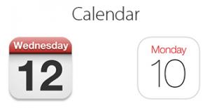 iOS_Calendar