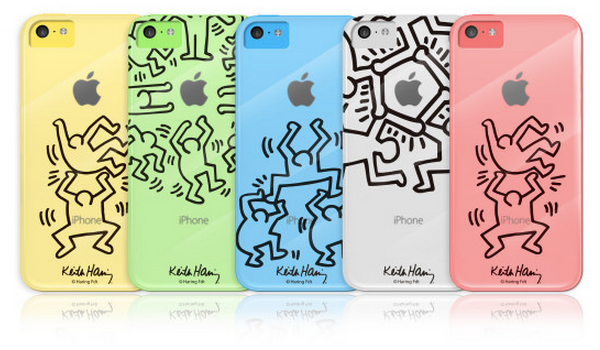 Keith-Haring-Crystal-Case-iPhone 5C