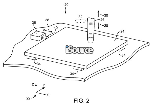 pressure-sensitive-touchpad-patent