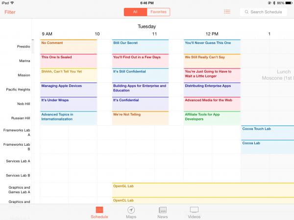 WWDC-2014-schedule