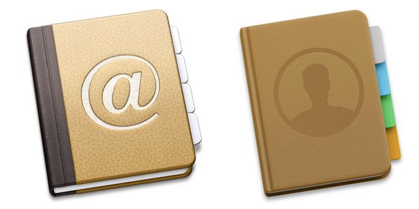 OS X CONTACTS ICONS