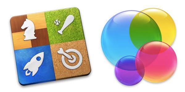OS X GAME CENTER ICONS