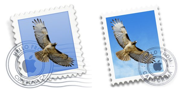 OS X MAIL ICONS