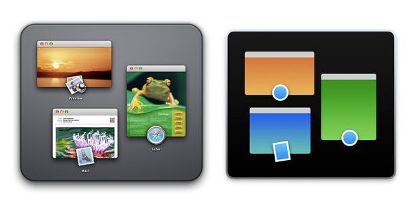 OS X MISSION CONTROL ICONS