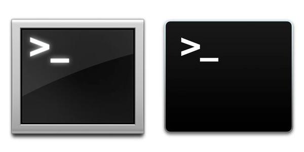 OS X TERMINAL ICONS