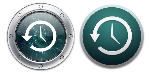 OS X TIME MACHINE ICONS
